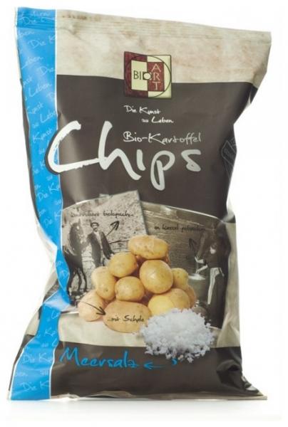 BIO ART - Chipsuri Bio cu sare de mare, 40 g 0