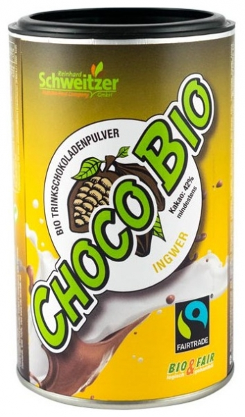 Bio Pudra de cacao cu ghimbir pentru ciocolata calda  250 g 0