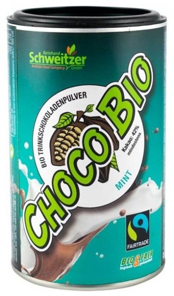 Bio Pudra de cacao cu menta pentru ciocolata calda  250 g 0