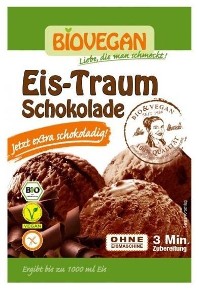 Inghetata (praf) vis de ciocolata Bio, 89 g 0