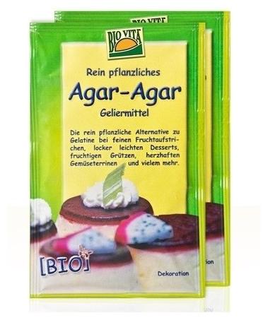 Agar agar Bio Gelifiant pentru dulceturi si creme dietetice 20gr 0