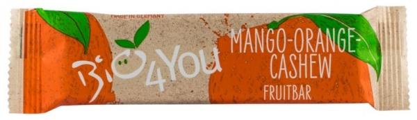 Baton BIO de fructe cu mango, portocale si caju, 30g 0