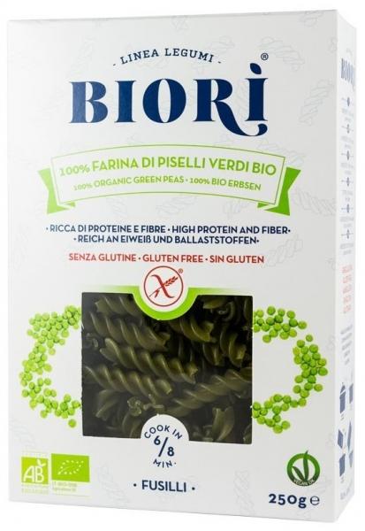 Biori - Fusilli Bio din mazare 250g 0