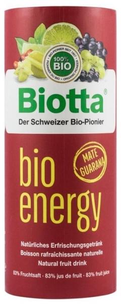 Biotta - Suc energizant Bio din fructe , 250ml 0