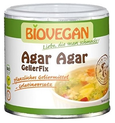Agar Agar Gelifiant vegetal pentru dulceturi si creme 100 gr 0