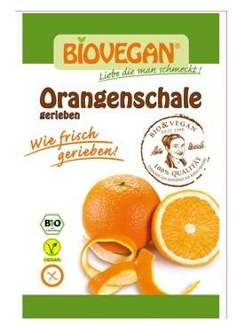 Coaja de portocala Bio rasa, 9 g 0