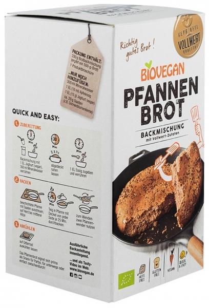 Premix bio pentru paine la tigaie, 330g 1