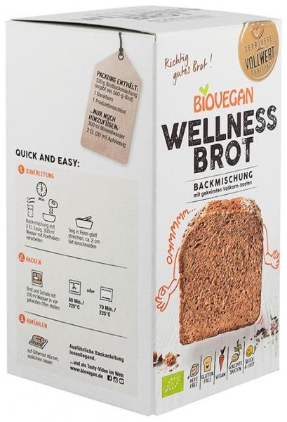 Premix bio pentru paine Wellness, fara gluten, 320g 1
