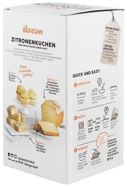 """Premix bio """"Tort de lamaie"""", fara gluten, 430g 1"""