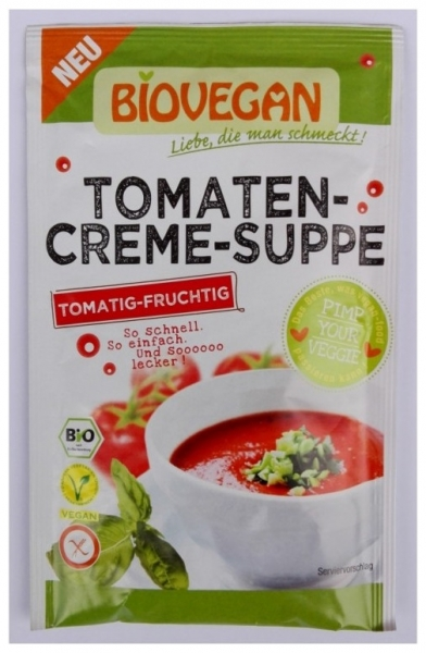 Supa crema de Rosii BIO Vegetariana 46 gr 0