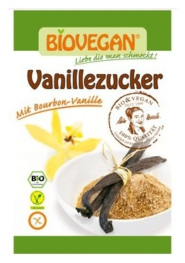 Zahar vanilat Bio, 8 g 0
