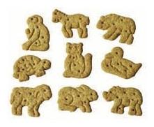 Biscuiti Bio Zoo din alac cu miere, 125 g 1
