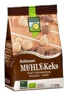 Bohlsener Mühle – Covrigei BIO dulci cu ciocolata si vanilie, 125g 0