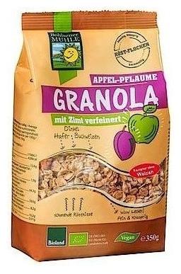 Musli Bio Granola cu mere, prune si scortisoara, 350g