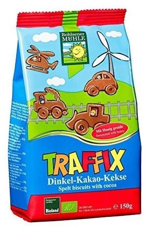 Biscuiti cu Grau Alac, Cacao si Miere. Ingrediente exclusiv BIO. 250 gr