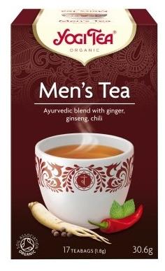Ceai Bio pentru BARBATI  Yogi Tea, 30.6gr 0