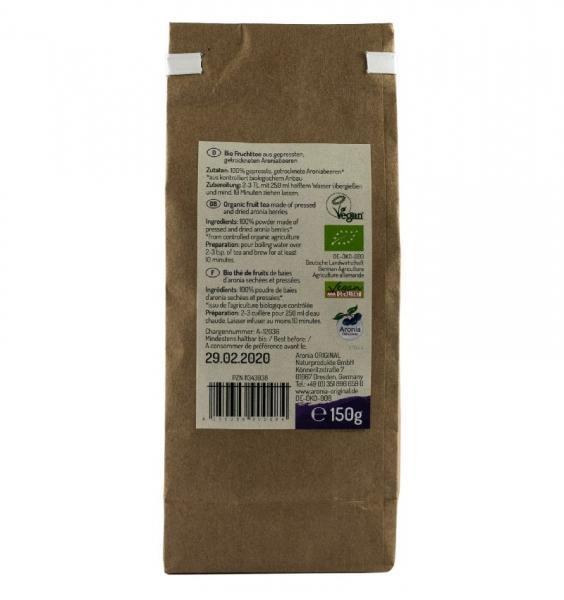 Ceai BIO special de aronia , 150 g 2