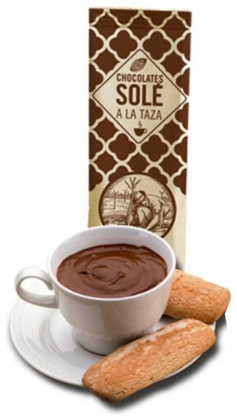 Ciocolata calda Neagra Autentica Chocolates Sole Barcelona 200gr 0