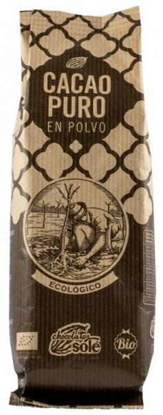 Chocolates Sole – Pudra bio de cacao pura, 150 g 0
