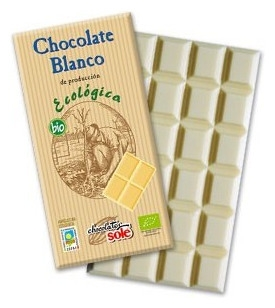 Ciocolata alba BIO Chocolates Sole, 100 g 0