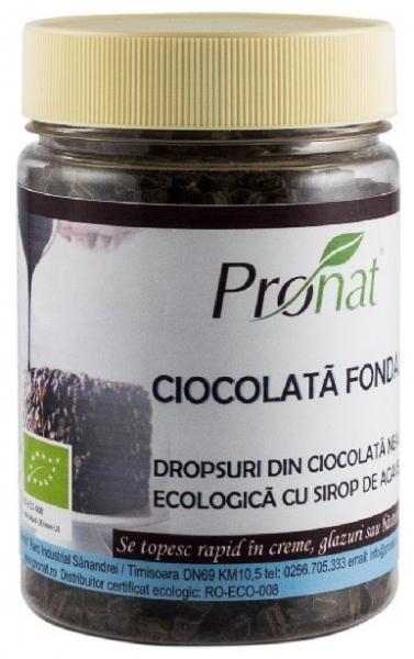 Ciocolata fondant BIO cu sirop de agave 180 g 0