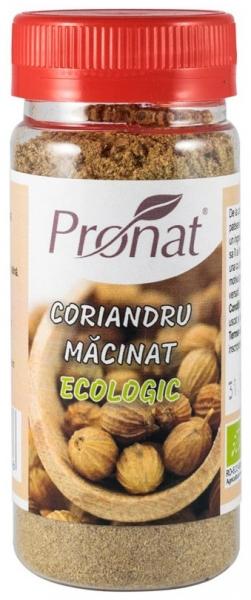 Coriandru BIO macinat, 35g 0
