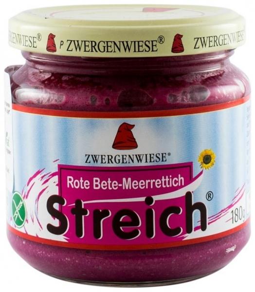 Crema tartinabila BIO vegetala cu sfecla rosie si hrean – 180 g 0