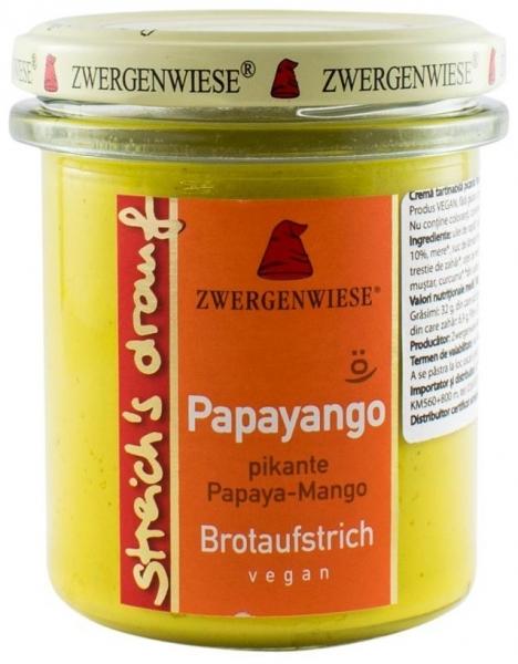 Crema tartinabila BIO vegetala Papayango - 160gr 0