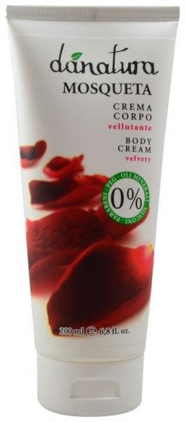 Crema de corp cu ulei de trandafir, 200ml [0]