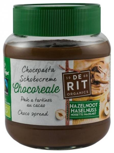 Crema de Ciocolata BIO cu Alune 350 gr (Vegetariana) 0