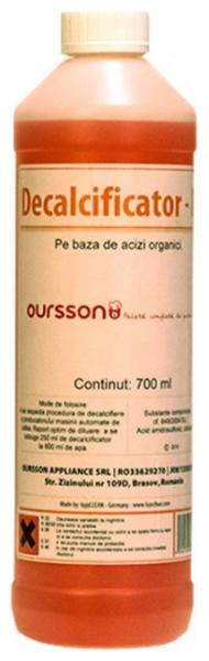 Decalcificator Oursson 1005 pe bază de acizi organici, 700 ml 0