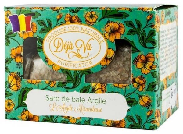 SARE DE BAIE CU ARGILE, 500g 0