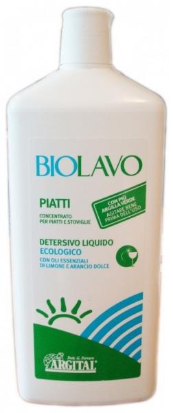 Detergent  super- concentrat de vase cu lamaie BIOLAVO 1L [0]