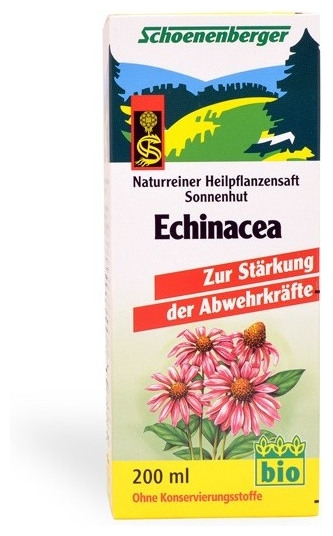 Echinaceea bio Schoenenberger 200 ml 0