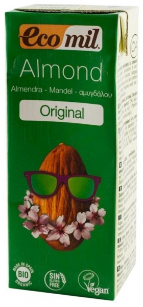 Bautura Bio de migdale Original, 200 ml, cu pai 0