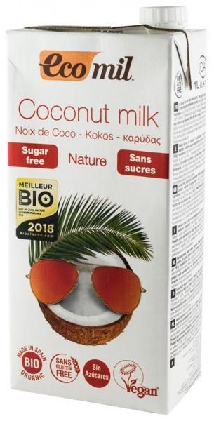 Bautura vegetala Bio de cocos, fara zahar, 1L [0]