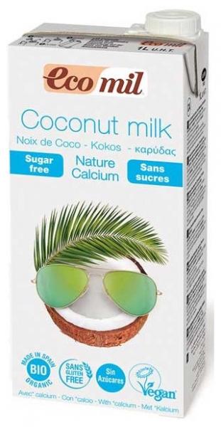 bautura vegetala bio de cocos natur cu calciu, 1L [0]