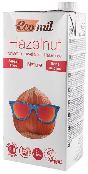 Bautura vegetala bio din alune fara zahar - Nature, 1 L [0]