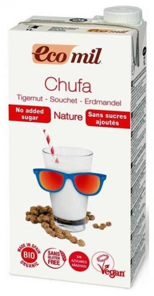 bautura vegetala bio din migdale de pamant Chufa, fara zahar, 1L 0