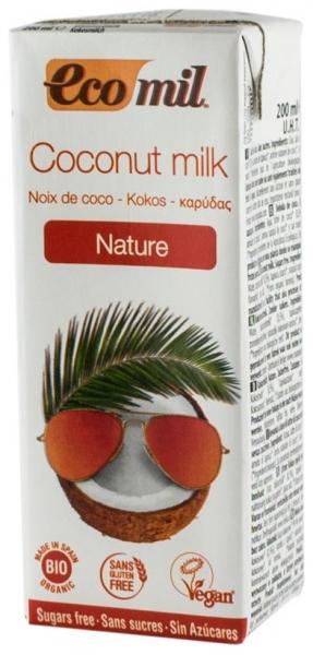 LAPTE DE COCOS BIO NATUR, 200 ML 0