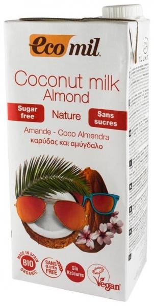 Lapte de cocos cu migdale, bio, 1L 0