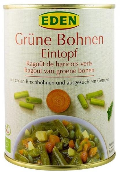 Ghiveci Bio de fasole verde 560 g (cu numai 34cal/100gr) 0