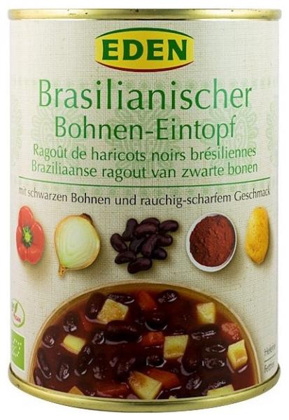 Ghiveci Bio de fasole neagra Brazilia 560 g (cu numai 55cal/100gr) 0