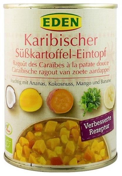 Ghiveci Bio de legume stil Caraibe 560 g (cu numai 43 cal/100gr) 0