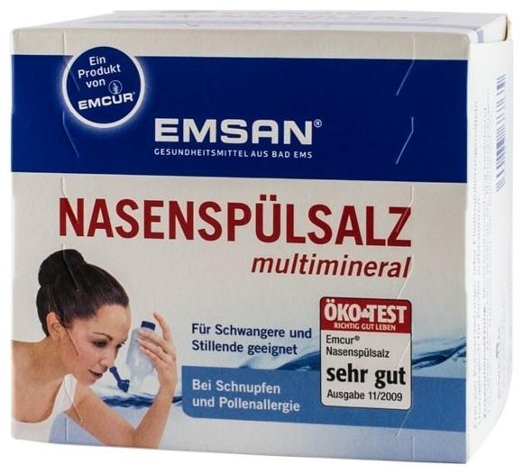 EMSAN - Solutie pentru spalaturi nazale cu multiminerale 0