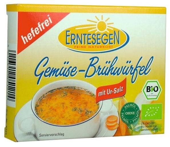 Cuburi Bio pentru supa, cu legume, fara drojdie - 66g [0]