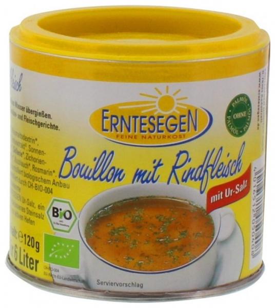 Supa Bio cu carne de vita, 120g 0