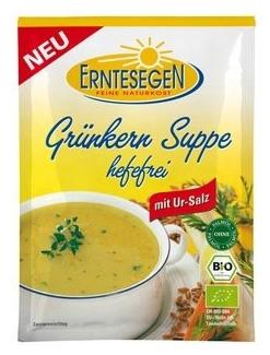 Supa BIO de GRAU VERDE si Legume 50 gr 0