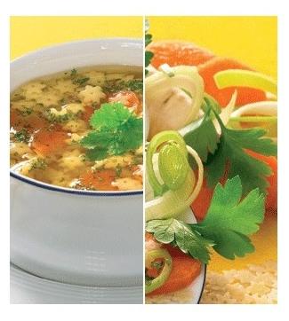 Supa de Legume BIO cu PASTE numai 17 calorii! 0