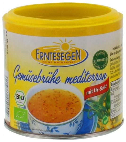 Supa Bio de legume mediteraneana, 125g 0